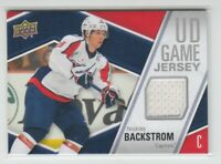 (72429) 2011-12 UPPER DECK NICKLAS BACKSTROM GAME JERSEY #GJ-NB