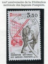 TIMBRE FRANCE OBLITERE N° 2233 SAPEUR POMPIER / Photo non contractuelle