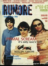 RUMORE 66-67/1997 PRIMAL SCREAM RONI SIZE SKINLAB TINDERSTICKS PAUL WELLER
