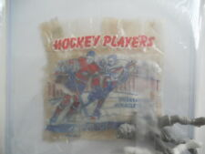 Hockey toys with NHL very rare wrapper 1950s