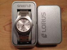 New - Reloj Watch Montre LORUS Ref. RXH03AX-9 - Quartz - Steel Acero - Nuevo