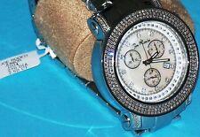 New Authentic Mens JOJO Joe Rodeo Junior  2.50 CT.aprx.real diamond watch. jju4