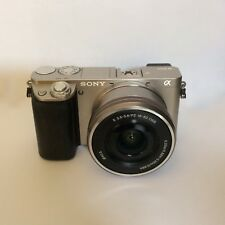 sony a6000 camera with lens