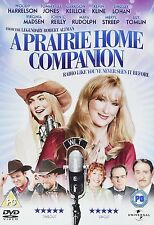 A PRAIRIE HOME COMPANION DVD Woody Harrelson New Sealed Region 2 UK Release