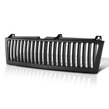 Chevy 99-02 Silverado Truck Range Rover Style Black Front Bumper Grill Assembly