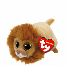 "TY Beanie Boos Teeny Tys 4"" REGAL Lion Stackable Plush Stuffed Animal Toy MWMT's"
