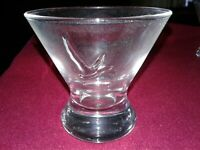 Grey Goose Glass, Short Martini Glass, Never Used, New