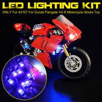 ONLY LED Light Lighting Kit For LEGO 42107 For Ducati Panigale V4 R  ✯
