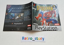 Sony Playstation PS1 Spider-Man 2 Notice / Instruction Manual