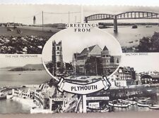Multi View of PLYMOUTH. post office savings bank centenary stamp 1961