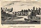 CPA Corbeil - Vue du Pont et du Vieux Chateau de Corbeil (488717)