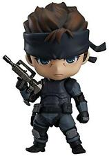 NEW Metal Gear Solid Snake Nendoroid PVC Action Figure Figurine 4'' F/S