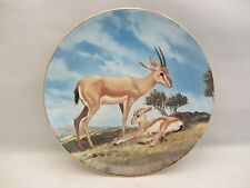 "WS George  ""The Slender-Horned Gazelle"" Plate by Will Nelson  #13681B  (8N)  NIB"