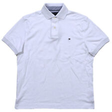 5dc2c8ab3 Men s Tommy Hilfiger Classic Short Sleeve Polo Shirt White Size L