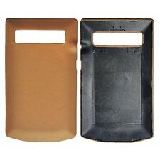 New Porsche Design Leather Battery Door Cover in Sand Beige for Blackberry P9981
