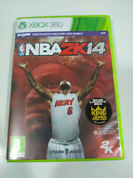 NBA 2K14 Lebron King James 2K - Set Xbox 360 Ausgabe Italien Pal - 3T
