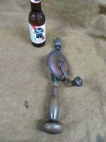 Vtg Goodell-Pratt,Tool Smiths 3/8 hand Drill,Greenfield,MA~AVG/GD😎😎😎GP11.6.20