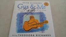 Keith Richards signed book Coa + Proof! Gus & Me Rolling Stones autograph