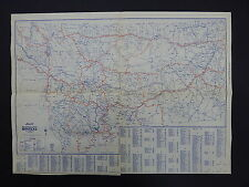 Vintage Maps, Motor Club, 1930's Langwith's #15