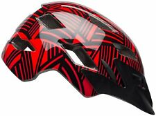 Bell Sidetrack Youth Cycling Helmet (Gloss Red / Black Seeker / One Size)