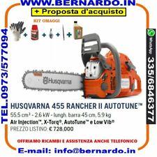 MOTOSEGHE HUSQVARNA 455 Rancher II AutoTune™ 55.5 cm³ Lama 45 cm 3/8''