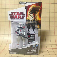 Clone Commander Deviss - MOSC Star Wars Action Figure - Legacy Collection BD-37