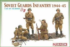 1/35 DRAGON Gen II WWII Soviet Guards Infantry (4) $$$ - FREE SHIPPING !!!