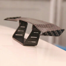Car 17cm Black Carbon Fiber Twil Look GT Tiny Mini Rear Wing Spoiler Tail Wing