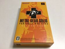 PSP Playstation portable Metal Gear Solid Portable Ops + Deluxe Pack Japan z3849