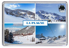 La Plange, Ski resort France Fridge Magnet