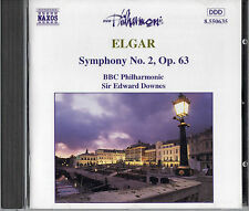 Elgar Symphony No 2 in E Flat, Op  63 - CD - Edward Downes - BBC Philharmonic