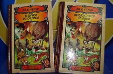 Libro Dos libros JULIO VERNE-VIAJE ALREDEDOR DE..y  EL ESFINGE DE LOSHIELOS