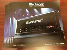 Blackstar Amplifiers Catalog - 2011 HT40 HT100 Gus G & More New Rare