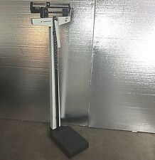 LOT - 4 UNITS - HEALTH-O-METER 402KL PHYSICIAN BALANCE BEAM SCALE 350 lb 160 kg