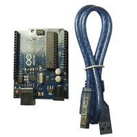 Arduino Uno Rev3, R3, Atmega328 compatible board + USB Cable UK Free Postage