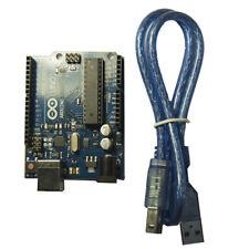 Arduino Uno Rev3 compatible development board + USB Cable UK Free Postage