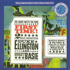 CD Album Duke Ellington Orchestra - Count Basie Orchestra First Time CBS