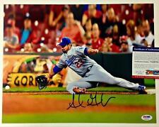 ADRIAN GONZALEZ Autograph DODGERS Signed 11x14 Photo PSA/DNA ITP Witness COA (a)