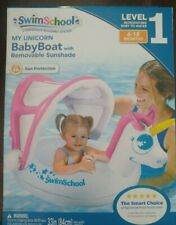 New Swimschool My Unicorn Baby Boat With Removable Sunshade Level 1 6-18 Months