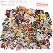 200x Stickers Skateboard Sticker Graffiti Laptop Luggage AUTO Decals mix lot