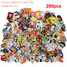 200x Stickers Skateboard Sticker Graffiti Laptop Luggage AUTO Decals mix lot