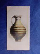 DE RESZKE Cigarette Card ANTIQUE POTTERY number 6 Ancient Roman