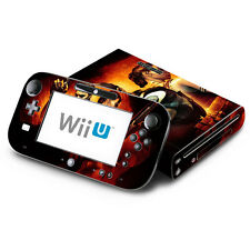 Skin Decal Cover for Nintendo Wii U Console & GamePad Resident Evil Revelations