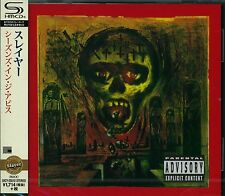 SLAYER SEASONS IN THE ABYSS 2015 JAPAN RMST SHM HIGH FIDELITY FORMAT CD