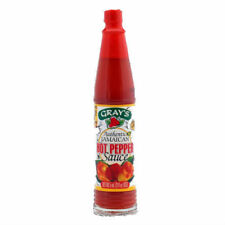 Gray's Authentic Jamaican Hot Pepper Sauce 3 oz (Case of 24)