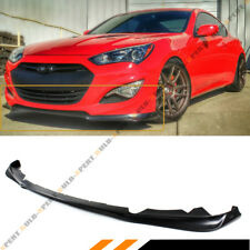 FITS FOR 2013-2016 HYUNDAI GENESIS COUPE KDM KS STYLE FRONT BUMPER LIP SPLITTER