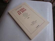 suites et fins ..J.L.CHIFLET..ed CARRERE...TBE