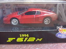 1/43  FERRARI / F 512 M / F512M / COUPE / V 12 / V12 / 1994 / HOT WHEELS / NEUVE