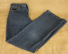 RALPH LAUREN RLR LAUREN JEANS CO. WOMEN DENIM BLUE JEANS SIZE 6