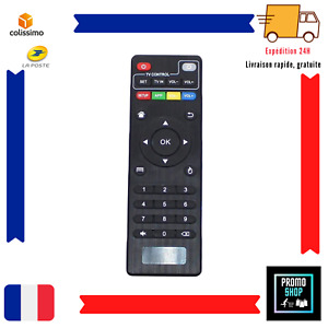 Télécommande BV X96mini X96W X96 Android TV Universelle PC MXQ-4K MXQ-Pro FR